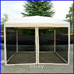 3 x 3m Gazebo Canopy Pop Up Tent Outdoor Garden Party Wedding Shade with Netting