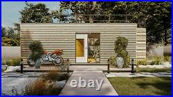 HC35 Converted Shipping Container Garden House Office Holiday Home Sauna