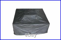 Large Firepit BBQ Outdoor Garden Patio Heater Stove Fire Pit Brazier Cover grill